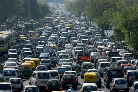 Biggest and longest traffic jam ever. #2