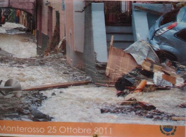 Flood aftermath.