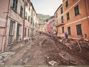 Other villages in the Cinque Terre suffer a similar fate in times of high run-off.