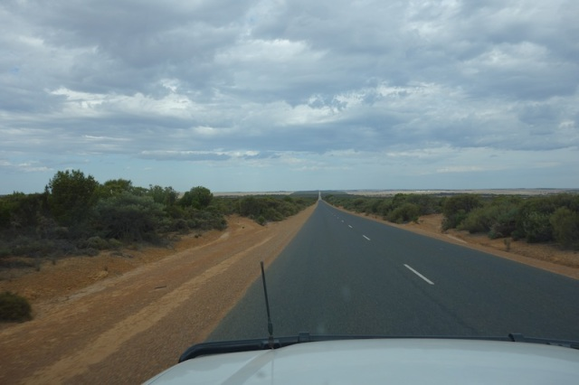 On the road to Esperance.