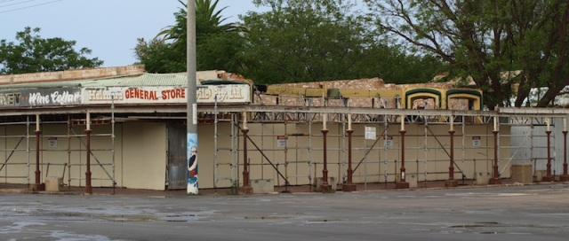 The corner store today in Wilcannia.