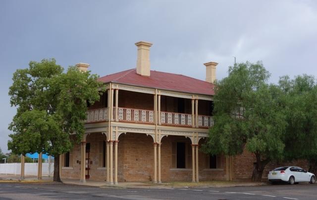 Restored building in Wilcannia