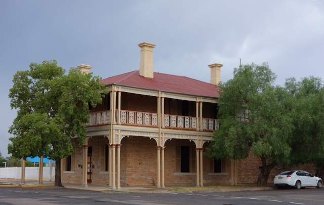 Restored building in Wilcannia