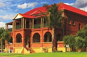 Historical Museum Cobar.  Former 1910 Mines Office.