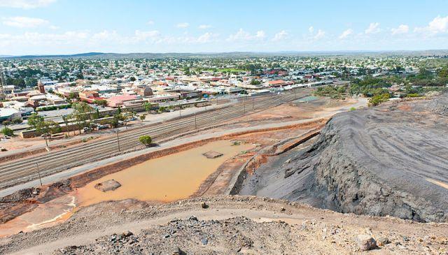 Broken Hill city. Photo by Jeremy Buckingham via Wikipedia.
