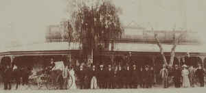 Corner store in Wilcannia in days of affluence 1880.
