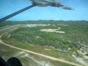 Horn Island airport.