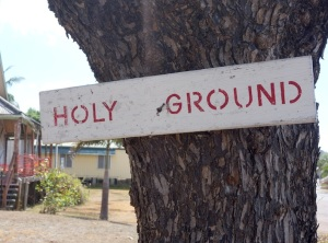 10 Holy ground