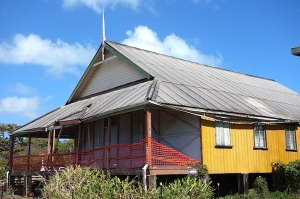 Anglican Parish hall.
