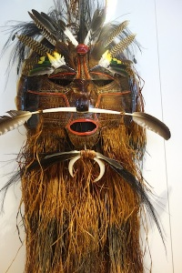 In days of Zogoism a mask like this would have been considered sacred, I think.