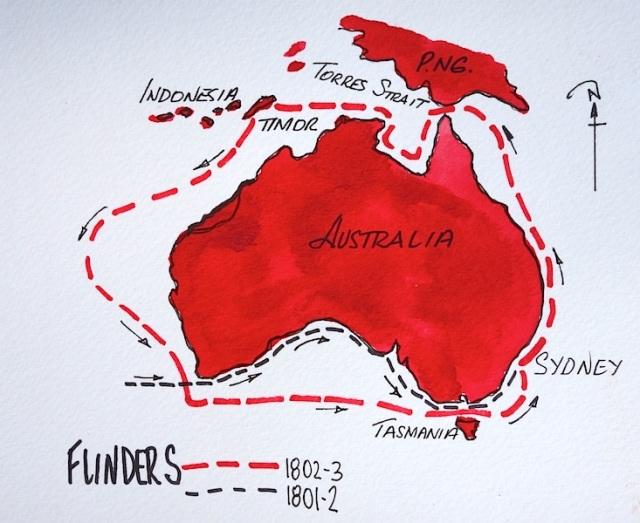22 Flinders voyage