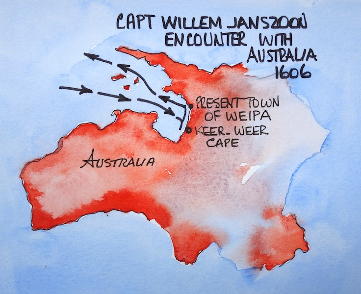 dutch discovery australia essay In february 1793 the italian explorer alessandro malaspina also called in to dusky sound on his way to australia explorers abel janszoon tasman (dutch.