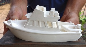 Ceramic reproduction of Pilot Vessel Archer.