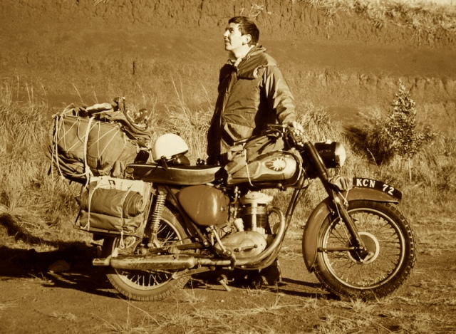 The BSA with full load.