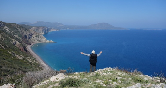 ALONG THE EAST COAST OF KYTHERA.