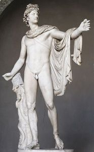 Apollo, the God of, among other things, music and poetry. Photo by Marie-Lan Nguyen/Wikimedia Commons