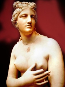 Hmmmmm!  Aphrodite, a very nice God to worship. Pity about the fingertip missing but there is no perfect body.