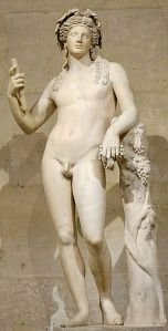 Dionysus, God of wine.   Photo by Marie-Lan Nguyen/Wikimedia Commons