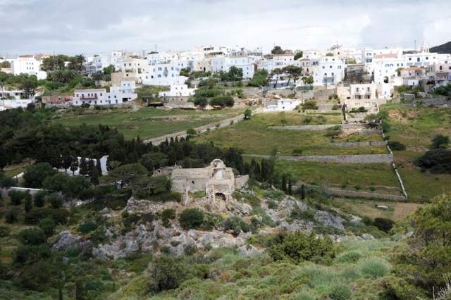 Chora capital of Kythera, population around 270.