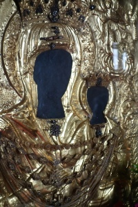 The icon of the Most Holy Theotokos 'Of the Myrtle Tree'.
