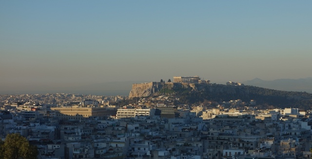 The Acropolis viewed from Strefi Hill.