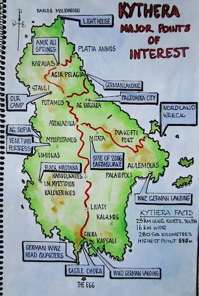 1 map Kythera