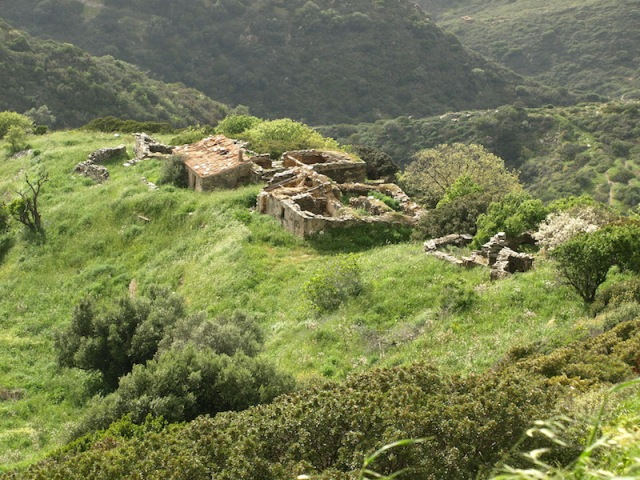 Nearby ruins.