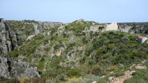 The Byzantine city of Paleochora.
