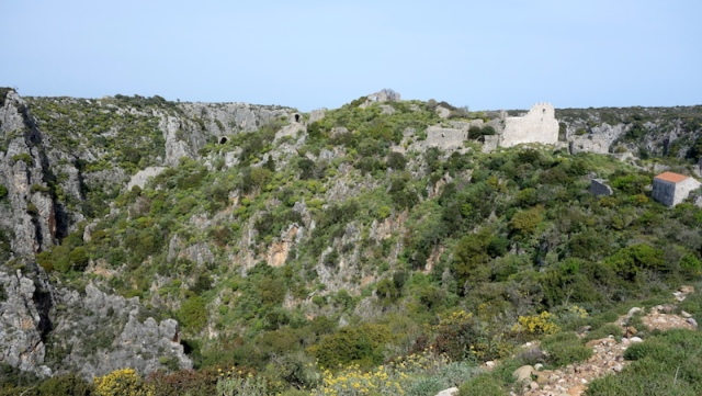 The Byzantine city of Paleochora.