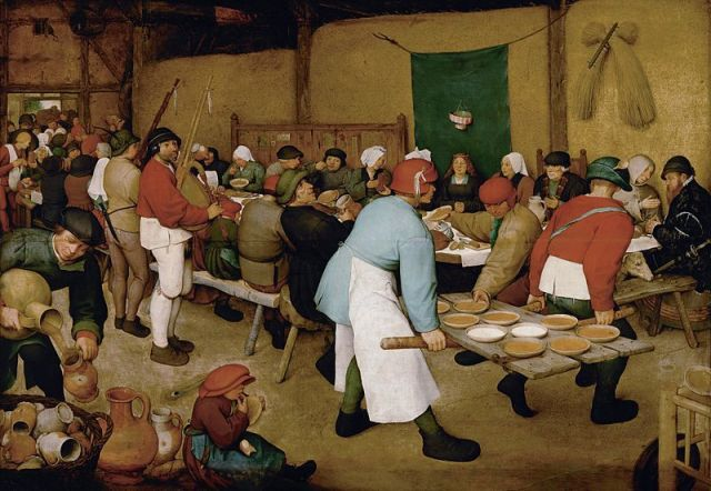 The Peasants' Wedding. Image via Wikipedia.