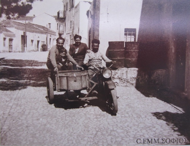 Coming down the main street Potamos 1937.