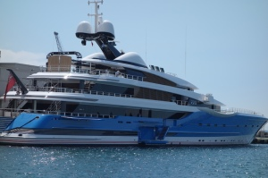 Luxury cruise ship from UK.  This would make a very acceptable home on water.