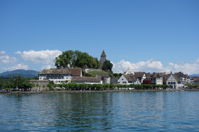 Rapperswil on Lake Zurich.