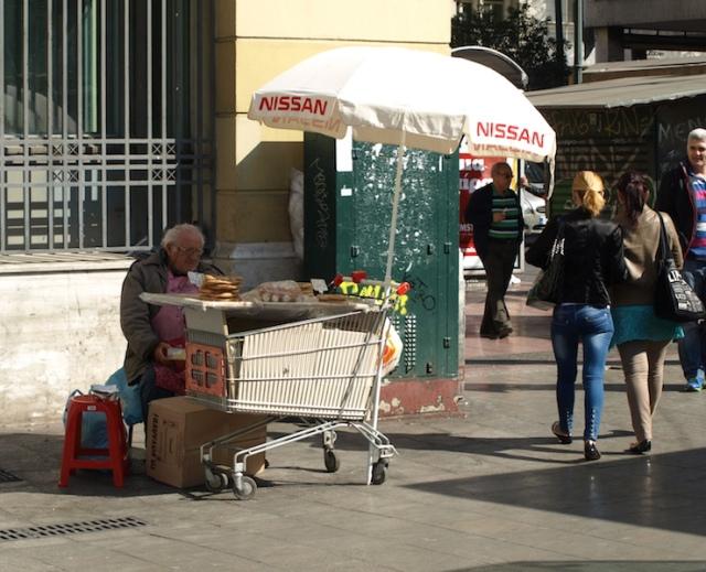 Bread seller.