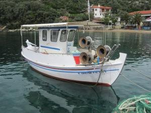 Well-preserved 'putt putt' boat.