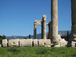 This fallen column tells all.