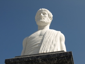 Aristotle. Aristotle was Alexander the Great's tutor.