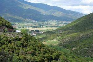 Fertile valleys