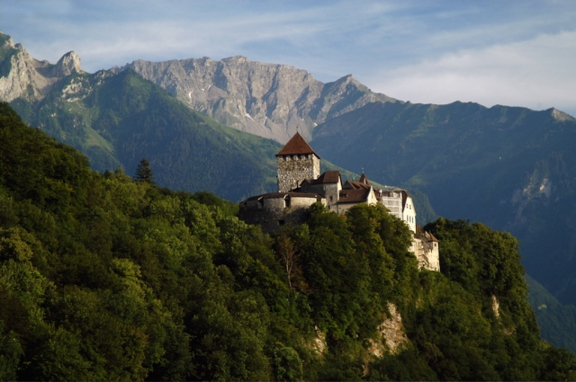 Liechtenstein Castle. Image by Michael Grednburg via Wikipedia