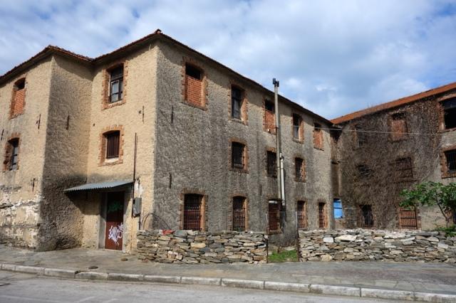 Abandoned cigarette manufactory.