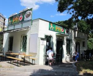 (2). Bun Cha Restaurant.  Simple décor with good tucker.