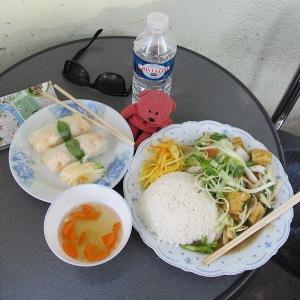 A Bun Cha meal.