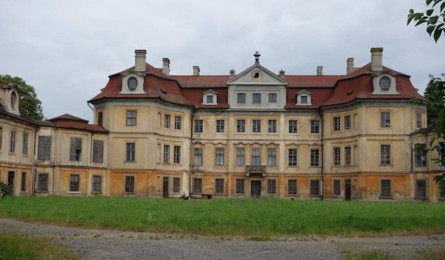 Abandoned Horin Castle.