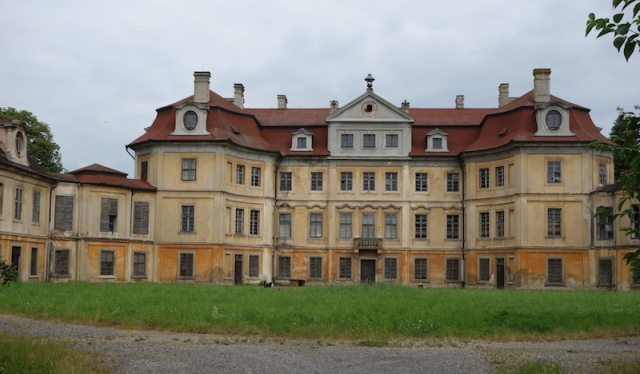 Abandoned Horin Castle.