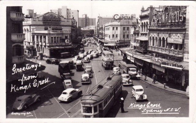 In the 1950s was when I was hopping on and off trams in Sydney.