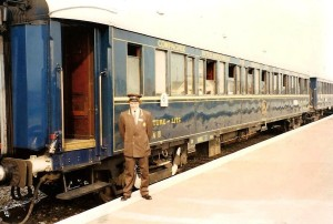 Conductor Glen and the Orient Express.