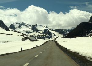 Clear air. Albula Pass