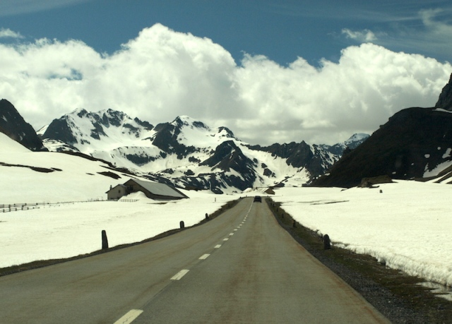 Clear air. Albula Pass