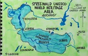 14 Spreewald map#1