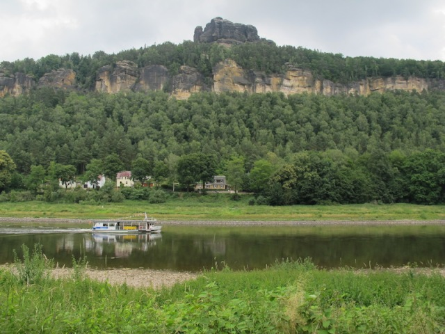 Scenery along the Elbe.